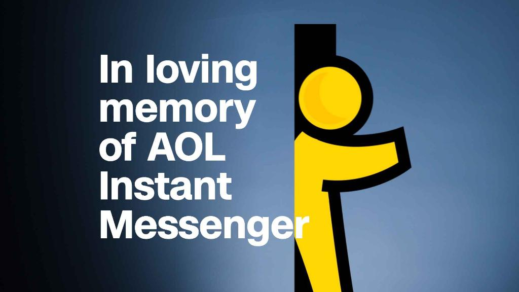 In memory of AOL Instant Messenger