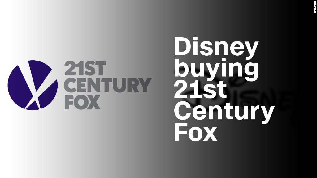 Disney buying 21st Century Fox for $52.4 billion