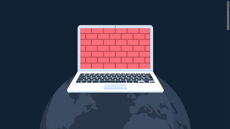 net neutrality brick wall