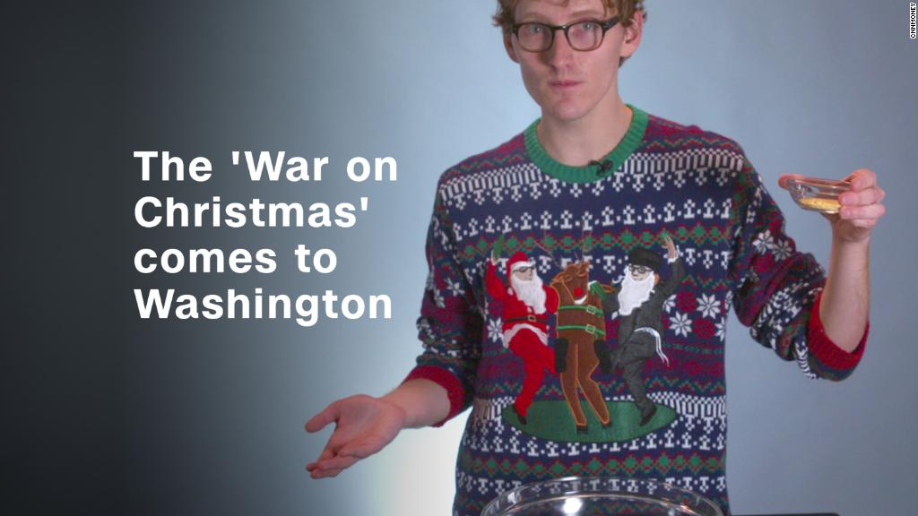 The 'War on Christmas' comes to Washington