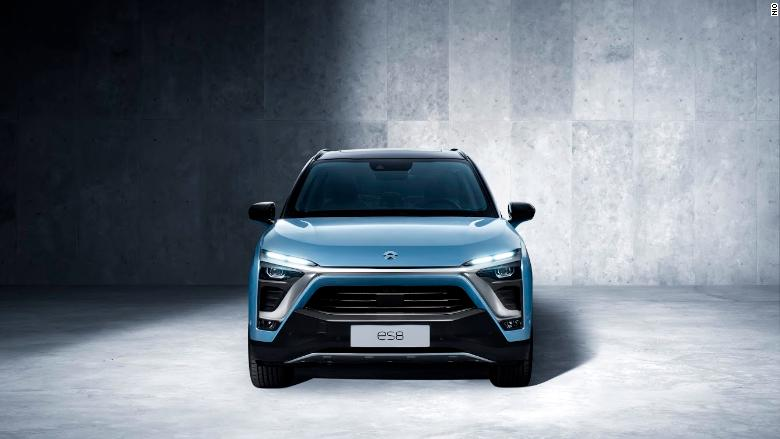Nio, Chinese electric auto  company, files to go public