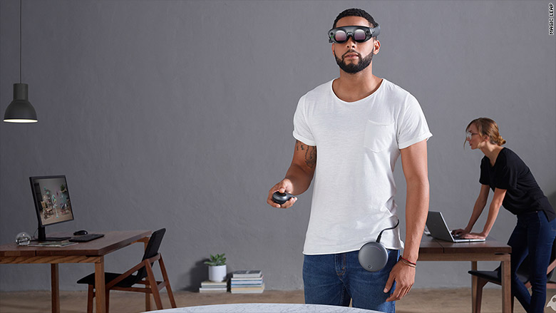 Casco AR de Magic Leap
