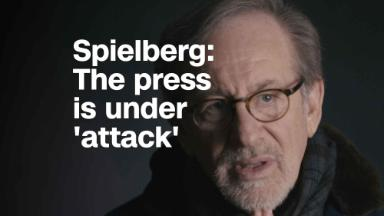 Spielberg: The press is under 'attack'