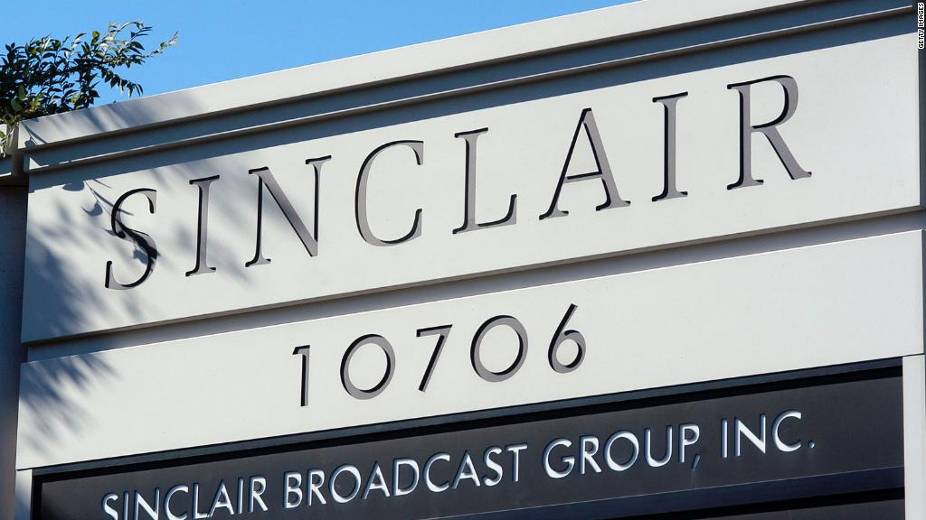 Tribune Media drops deal with conservative Sinclair TV group