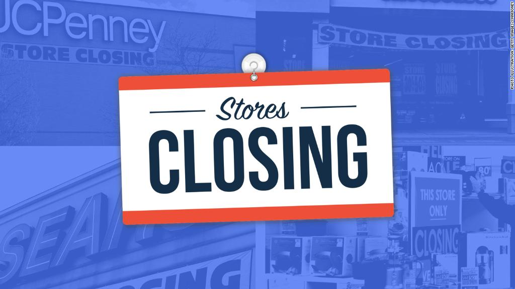 Retail stores are closing at an alarming rate