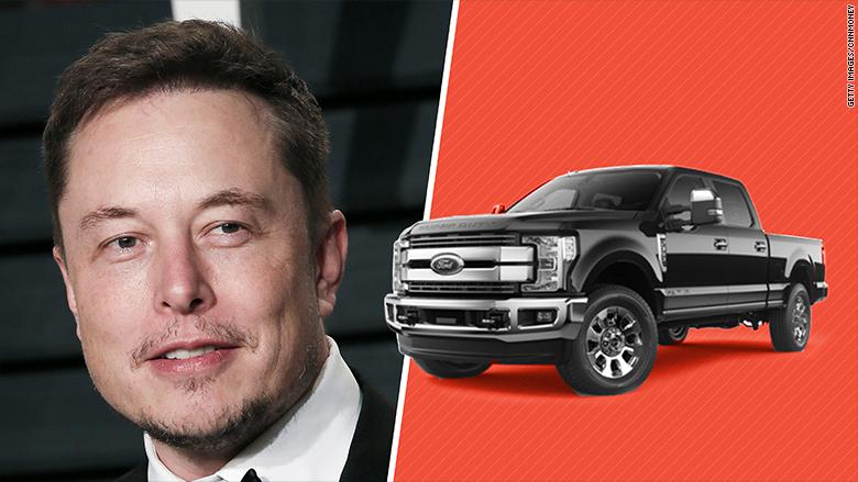 Elon Musk Promises A Tesla Pickup Again