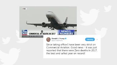 Trump back in D.C. -- and tweeting about 'Fox & Friends'