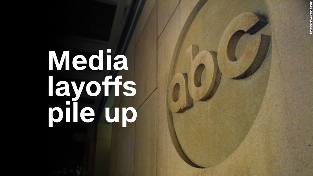 Media layoffs pile up