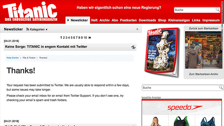 titanic magazin newsticker