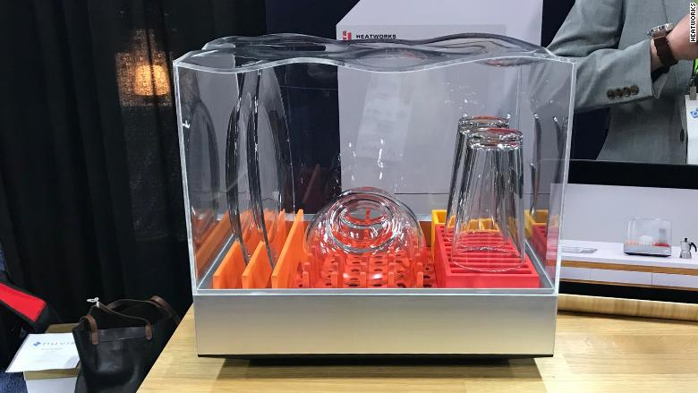 Countertop Dishwasher Ces 2018 Kicks Off With Oddball
