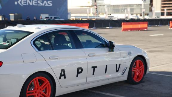 Testing a self-driving car on the Las Vegas strip