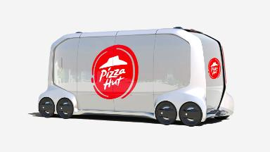 Pizza Hut is working on self-driving delivery trucks
