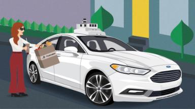 Ford and Postmates team up on self-driving deliveries