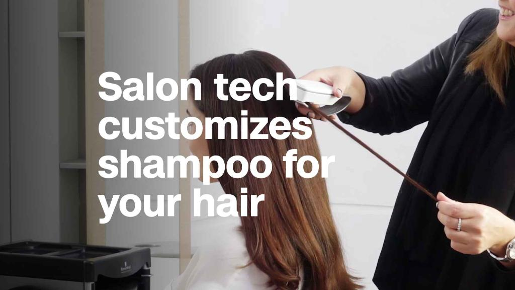 Salon tech will customize shampoo to your hair