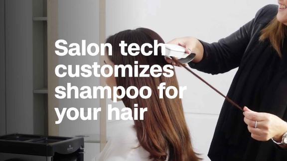 This futuristic salon lets you preview hair colors virtually