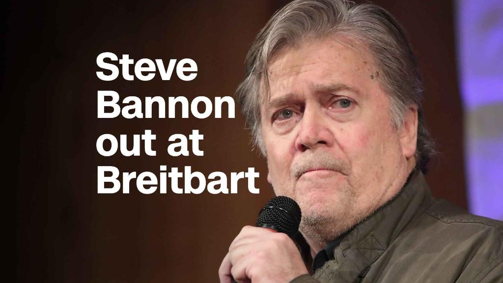Steve Bannon is out at Breitbart