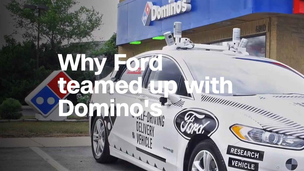 New Ford CEO excited for driverless Domino's
