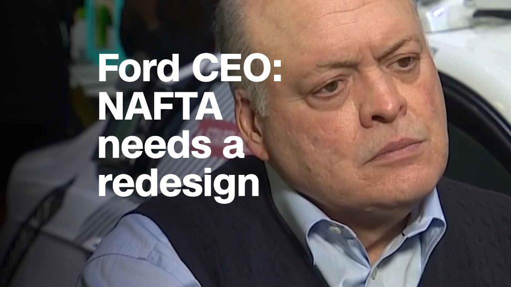 Ford CEO: NAFTA needs a redesign