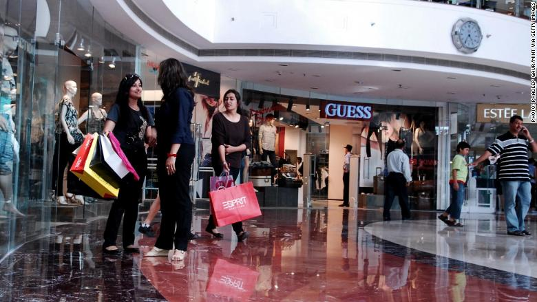 india mall retail brands