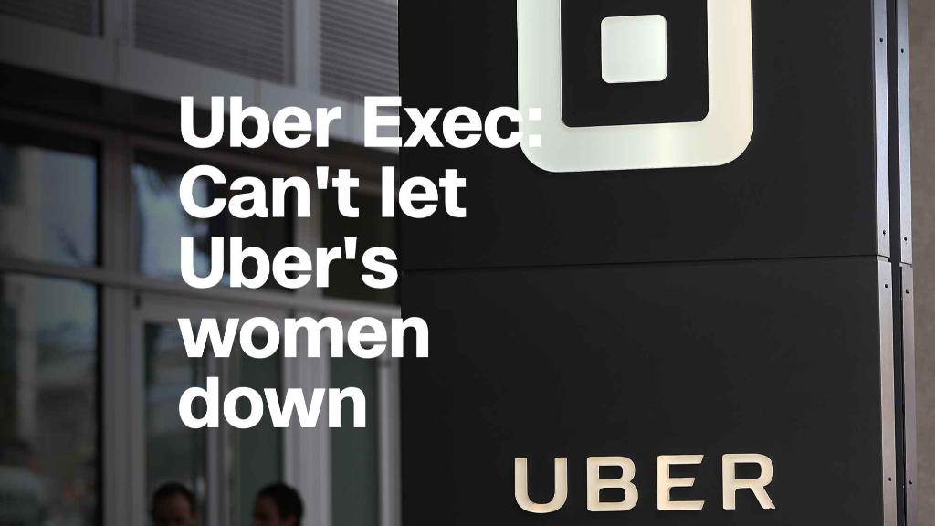 Uber Exec: We can't let women at Uber down