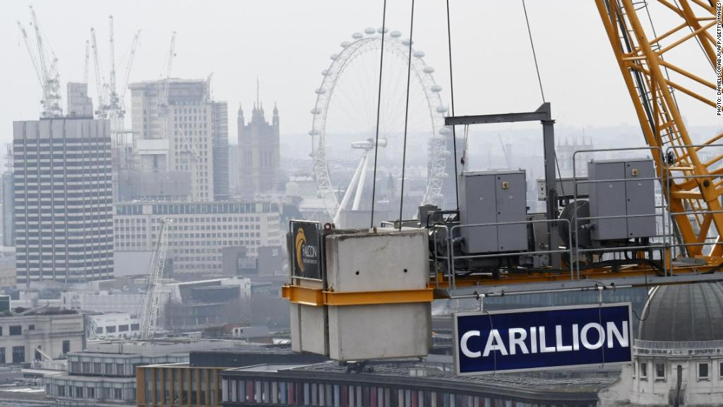 The impact of Carillion's collapse