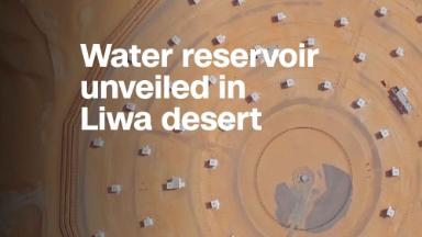 World's largest desalinated water reservoir unveiled in the desert