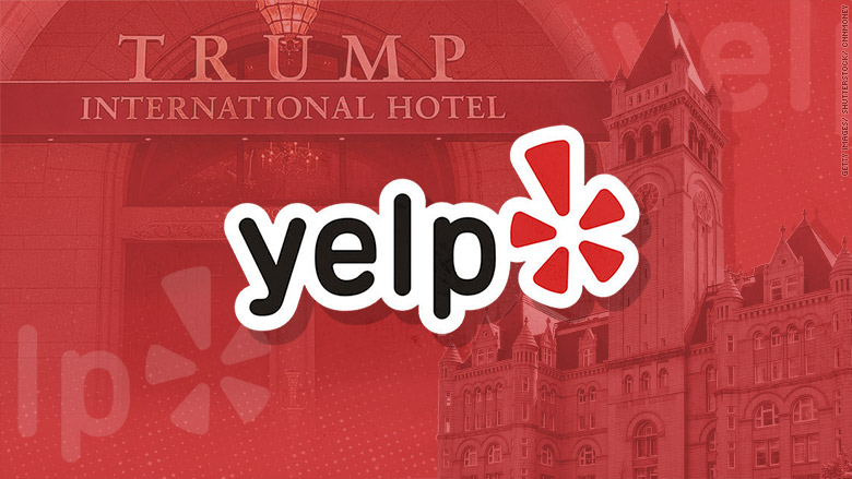trump yelp reviews