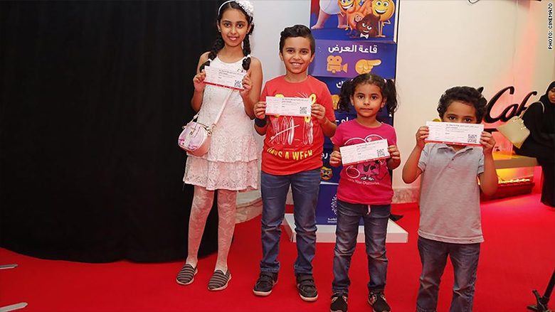 saudi kids at film festival 2