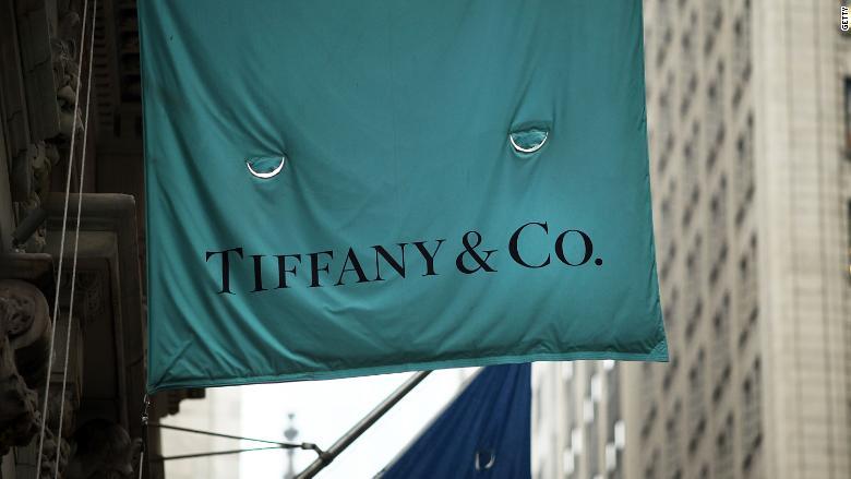 Tiffanys Booming Sales Send Stock Soaring