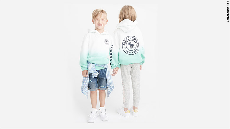 Abercrombie Is Rolling Out Gender-neutral Children's Clothes