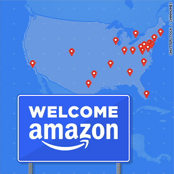 What you need to know about Amazon's 20 final cities