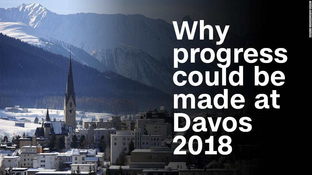 Here's why real progress could be made at Davos