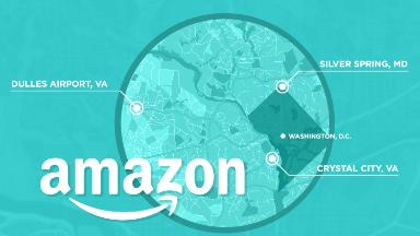 Three Amazon finalists are inside the Beltway. What gives?