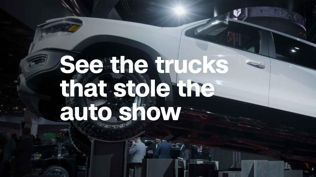 American auto manufacturers bet on trucks