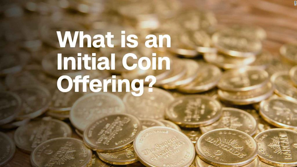 What is an initial coin offer?