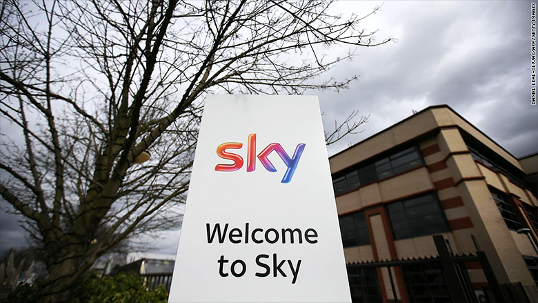 Comcast just got one step closer to buying British broadcaster Sky
