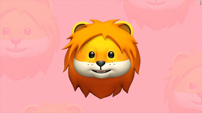 lion emoji apple