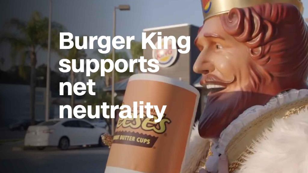 Watch Burger King explain net neutrality with Whoppers