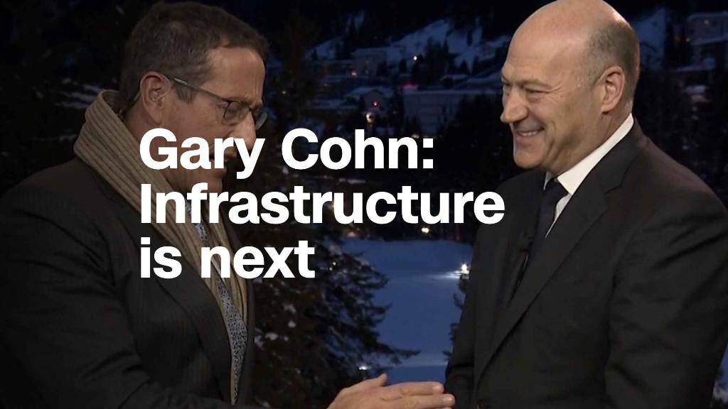 Gary Cohn: Infrastructure is next