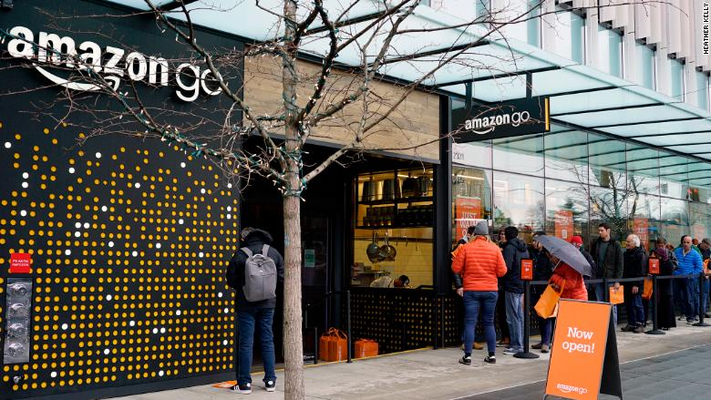 Amazon Go outside