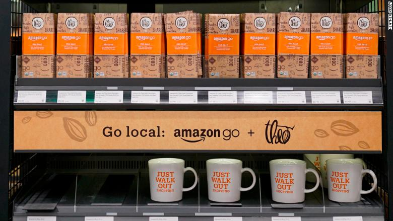 Amazon Go mugs