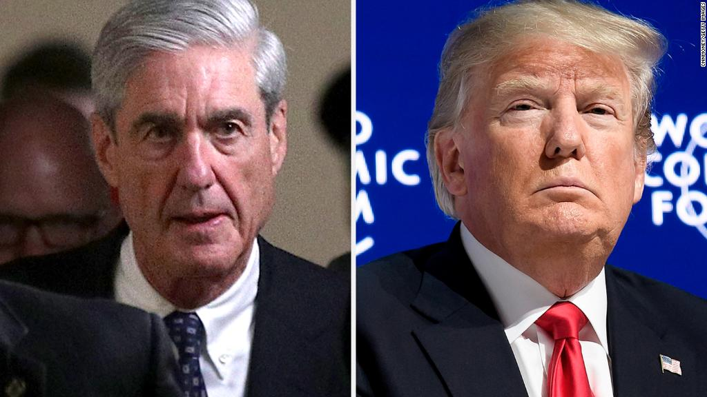 Trump takes on Mueller in tweetstorm