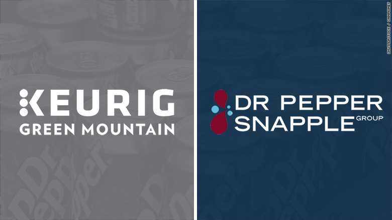 Dr Pepper Snapple Is Merging With Keurig Green Mountain