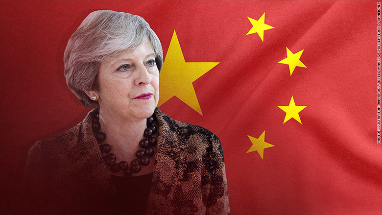theresa may china