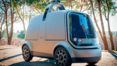 Ex-Googlers create a self-driving car to deliver your groceries