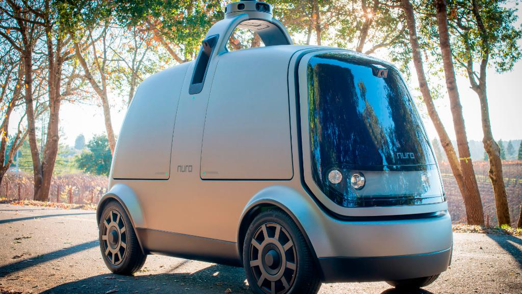 Ex-Googlers make delivery robot for errands