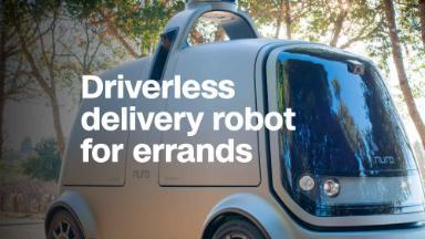 Ex-Googlers make delivery robot for errands