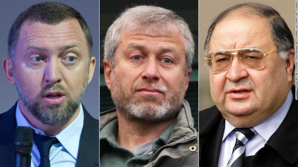 U.S. names Russian oligarchs in 'Putin list'