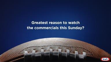 Kraft is making its Super Bowl debut