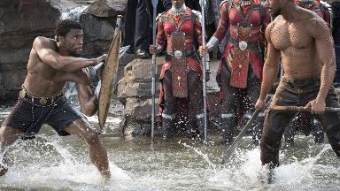 'Black Panther' is heading for a record-breaking box office weekend